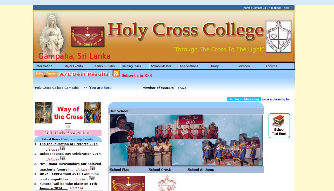 www.holycrosscollegegampaha.net